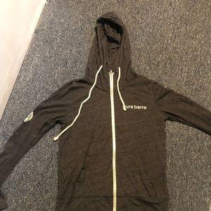 Tops - Pure barre zip up hoodie